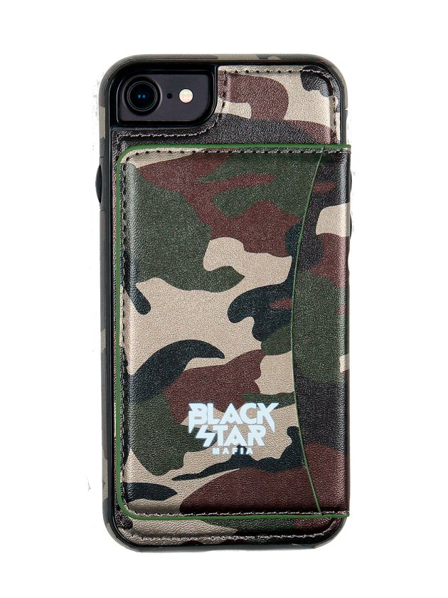 Чехол для IPhone 5/6/6+/7/7+ Black Star Mafia Camo Камуфляж 6+