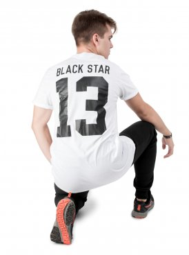 Men's t-shirt BLACK STAR 13