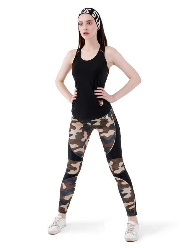 Купить Леггинсы SPORT LINE CAMO, Black Star Wear, Камуфляж