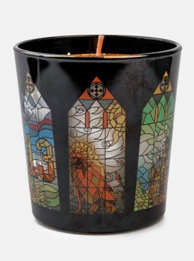 Aromatized candle BLACK STAR LION