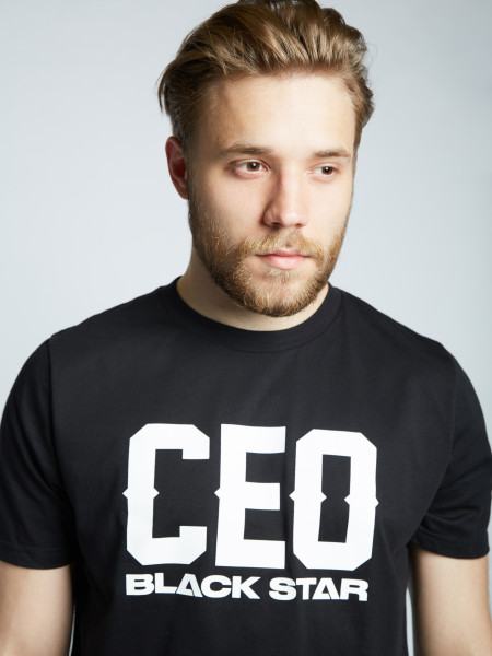 Футболка CEO BLACK STAR