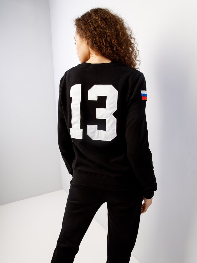 Костюм спортивный с флисом BASIC 13 Black Star Wear