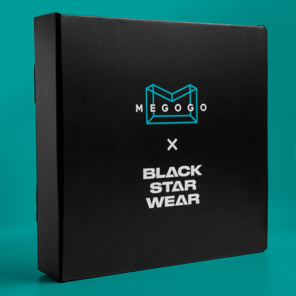 Cinema box Megogo x Black Star Wear